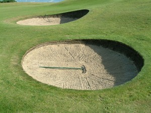 Golf Rules Sand Bunkers